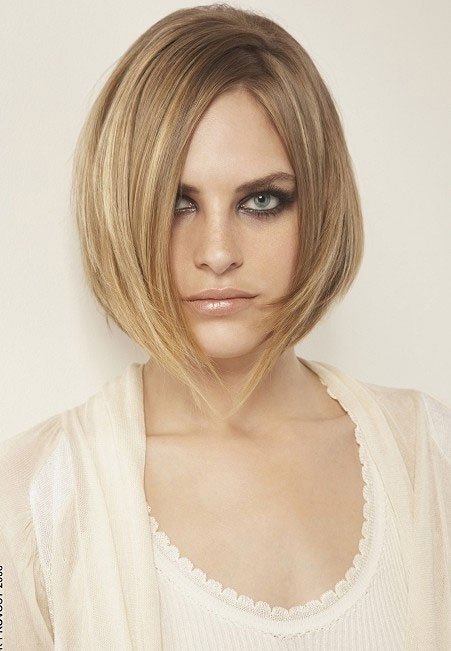 Cute Inverted Bob Hairstyles for Teenage Girls
