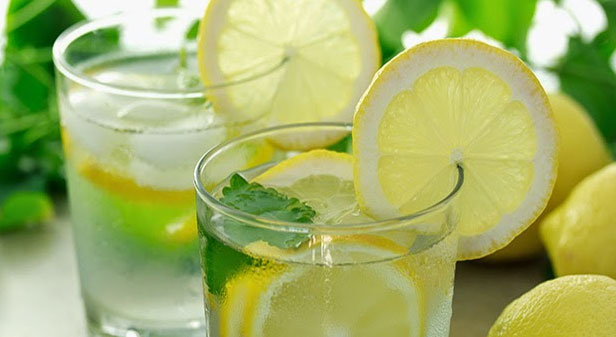 Warm Lemon Water