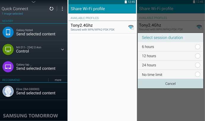 Sharing Wi-Fi