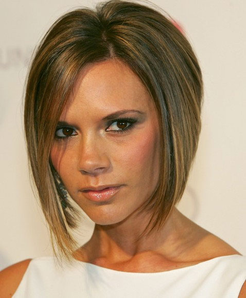 Victoria Beckham Inverted Bob Hairstyle