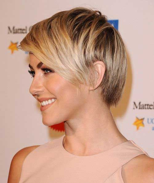 Julianne Hough Cute Straight Pixie
