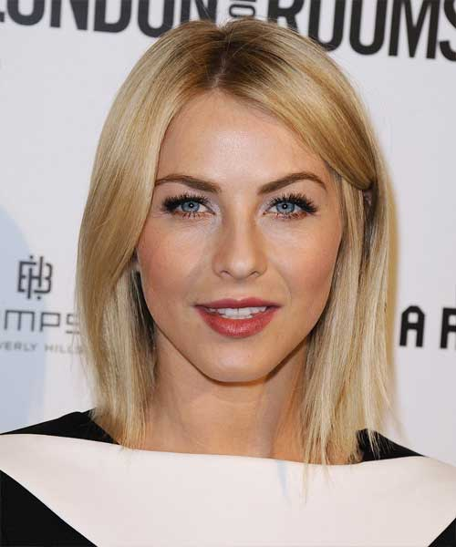 Julianne Hough's Short Casual Straight Hair