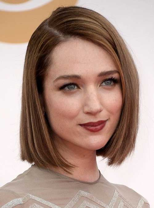 Straight Line Bob Short Haircut