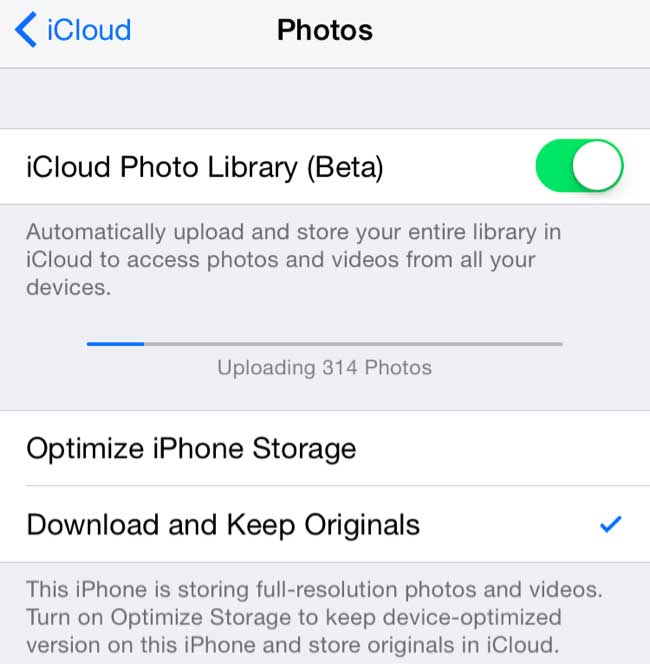 A New iCloud Library