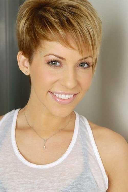 Cute Easy Pixie Haircut for Long Face