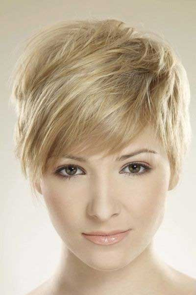 Long Pixie Hairstyles for Side Bangs