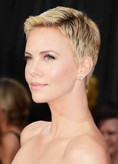 Pixie haircut for oval face