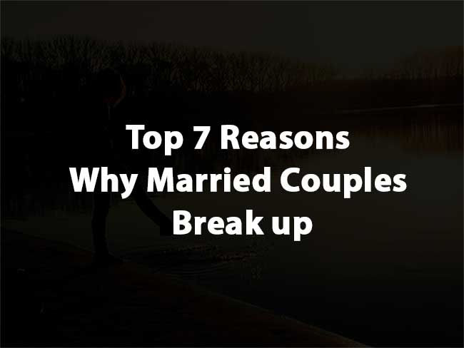 Why Married Couples Break up