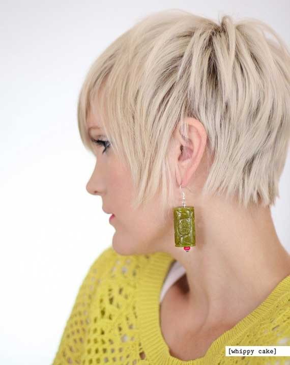 Chic Layered Short Hairstyle