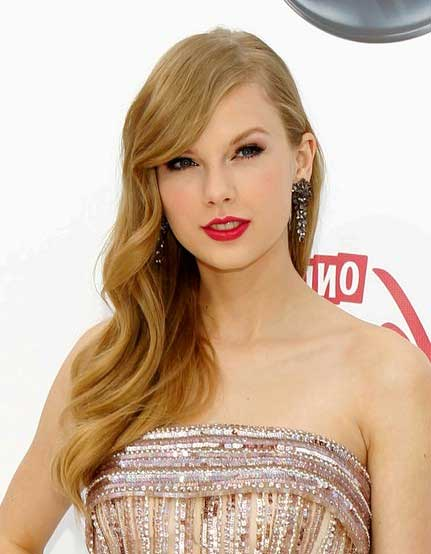 Taylor Swift Retro Hairstyle