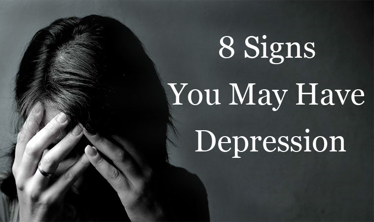 8 Signs You May Have Depression