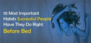 habits successful people