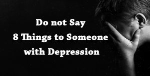 someone with depression