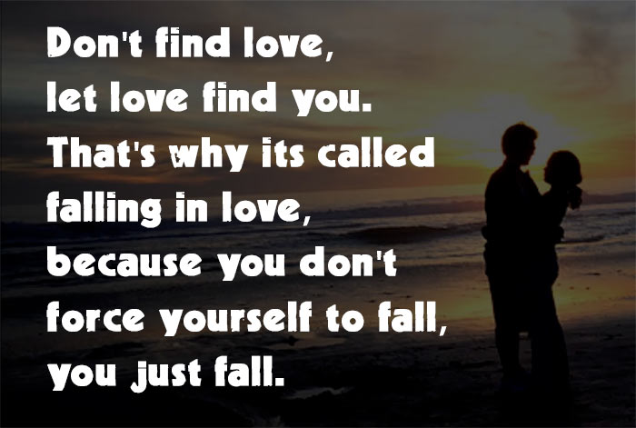 He Is Falling In Love for You