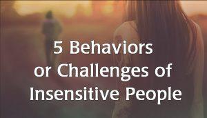 Insensitive People