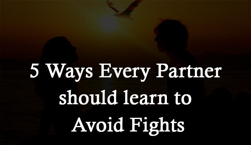 avoid fights