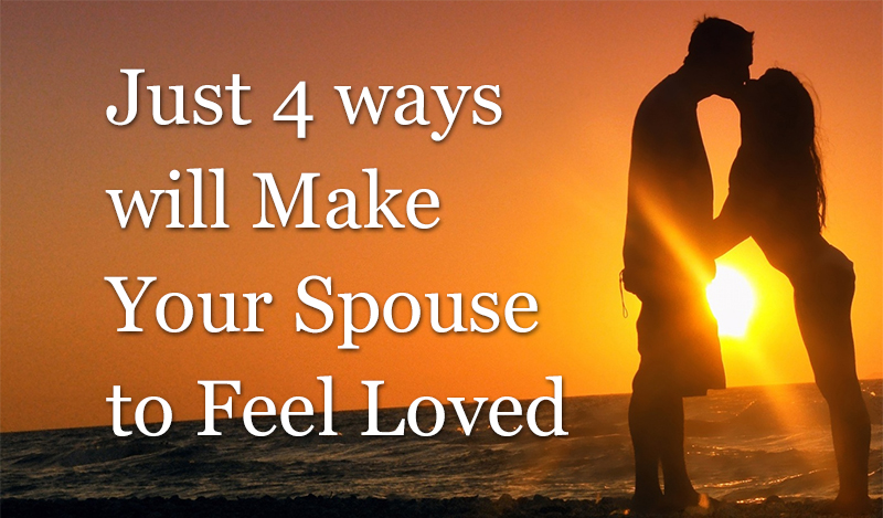 spouse to feel loved
