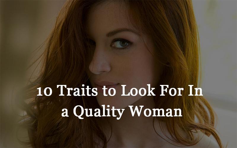 a quality woman
