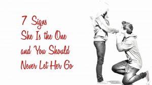you should never let her go