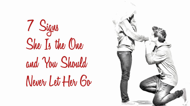 you should never let her go
