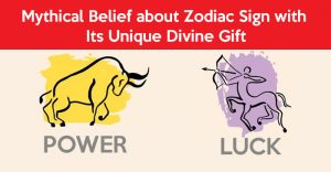 Mythical belief about zodiac sign