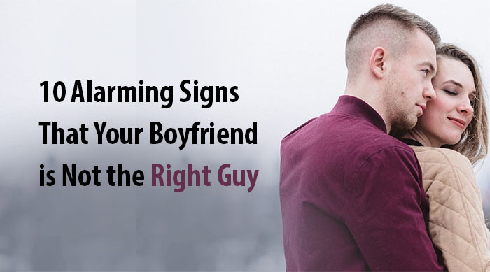 not the right guy