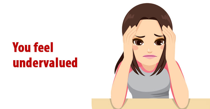 undervalued at work