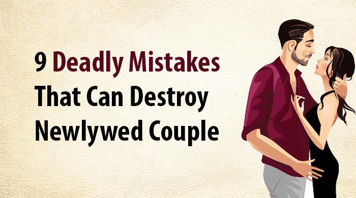 destroy a newlywed couple