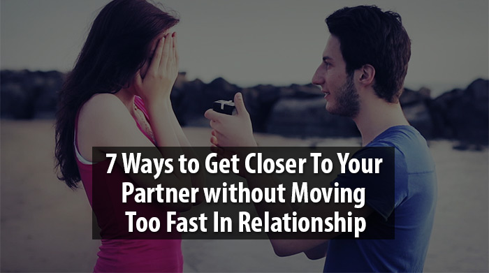get closer to your partner