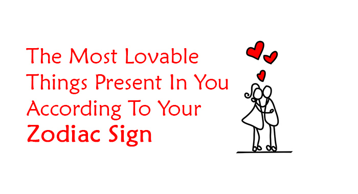 according to your zodiac sign