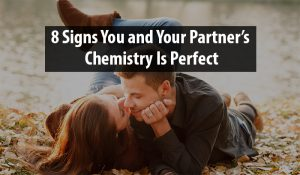 your partner's chemistry is perfect