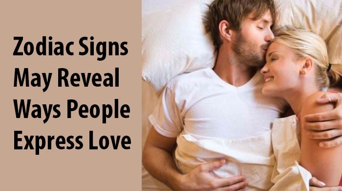 ways people express love