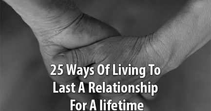 relationship will last for a lifetime