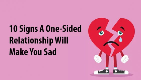 one-sided relationship