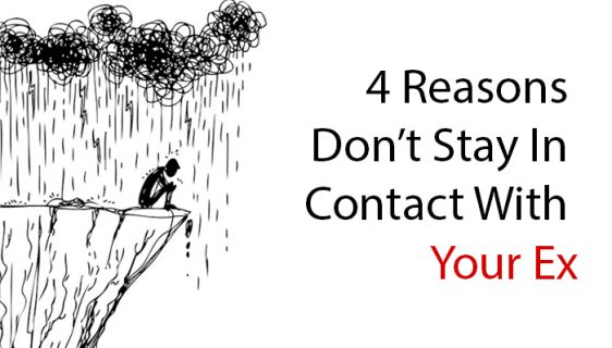 Stay In Contact With Your Ex