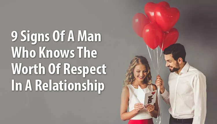 the value of respect in a relationship
