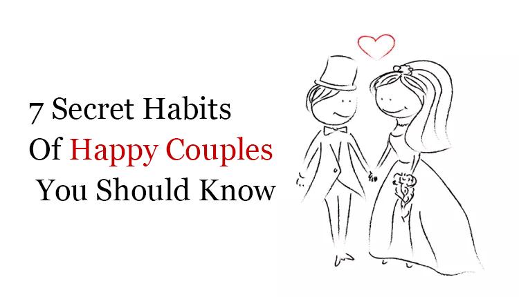 secret habits of happy couples