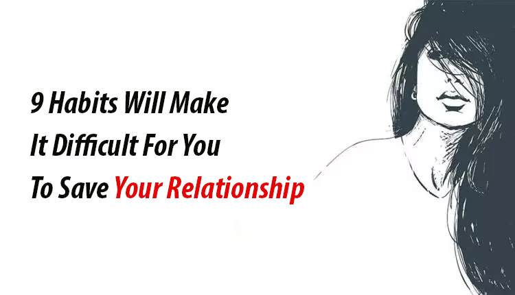 to save your relationship