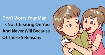 your man is not cheating on you