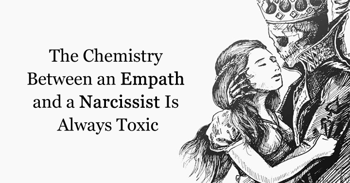 empath and a narcissist