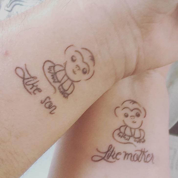 Parents Kids tattoo