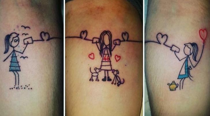 Sisters' tattoo