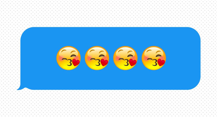 love emoticons are always there