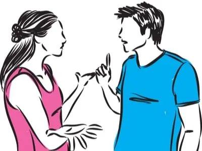 make awkward conversation