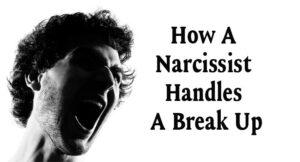 A Narcissist Handles A Break Up