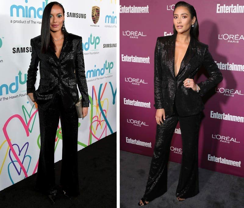 Selita Ebanks and Shay Mitchell in full