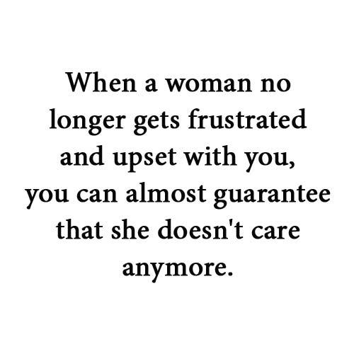 When Woman no longer get